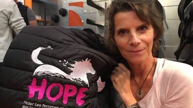 Hope Annabel Brourhant équithérapie cheval cancer