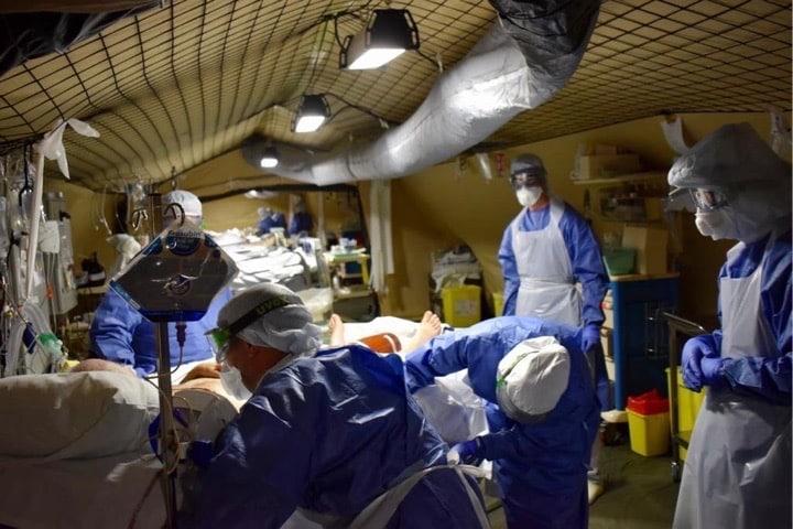 Des élèves-infirmiers de Lyon viennent en renforts à l'EMR de Mulhouse