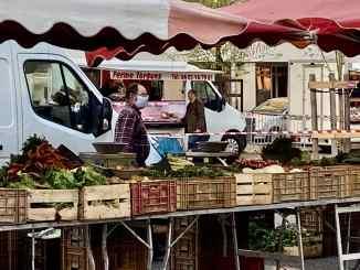 Masques obligatoires sur les marchés à Villeurbanne
