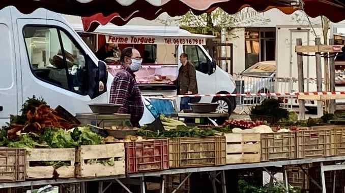 Les marchés de Lyon rouvrent petit à petit après le déconfinement