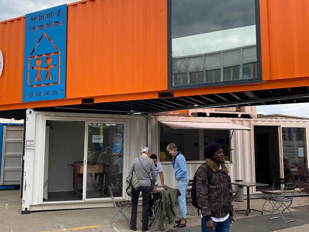 Habitat et Humanisme a lancé à Gerland le Village Mobile