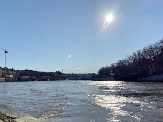 alerte canicule sur le Rhône
