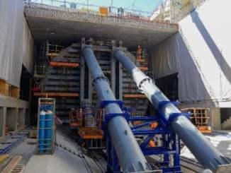 Le tunneler coline va pouvoir partir direction Oullins pour creuser le prolongement de la ligne B du métro