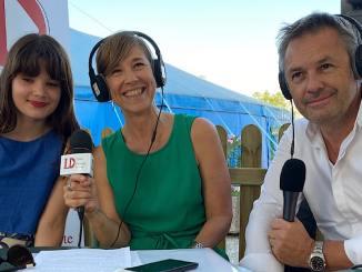 Avec Louise Combier et Stephan Blanchet