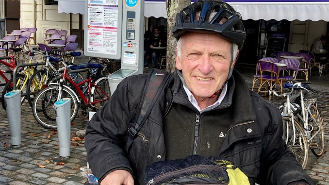 Camille Gintzburger a entamé un tour de France en blablacar et à vélo partagé