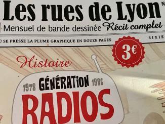 L'histoire de la FM à Lyon en BD