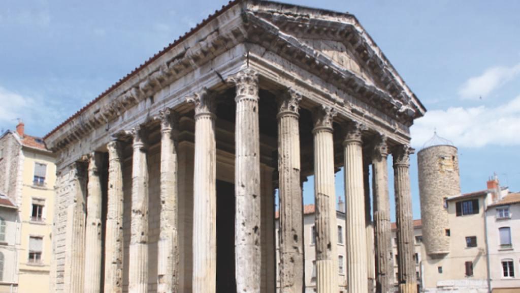 A Vienne, le temple a inspiré le Capitole
