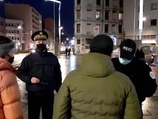 le préfet renforce les controles du couvre-feu et du port du masque