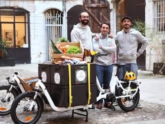 Commandes en ligne et livraisons en vélos-cargo avec Les Fantasques