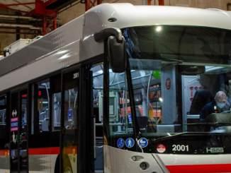 nouveaux trolleys à Lyon