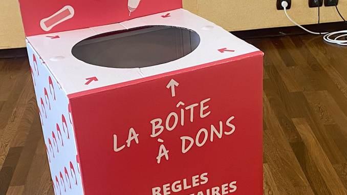 collecte de protections féminines - Lyon Demain