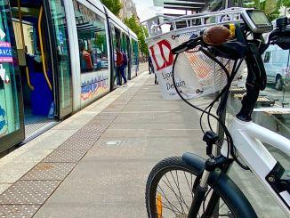 Le Sytral expérimente la montée des vélos dans le tramway