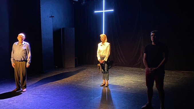 Grace à Dieu à l'Acte 2 théâtre