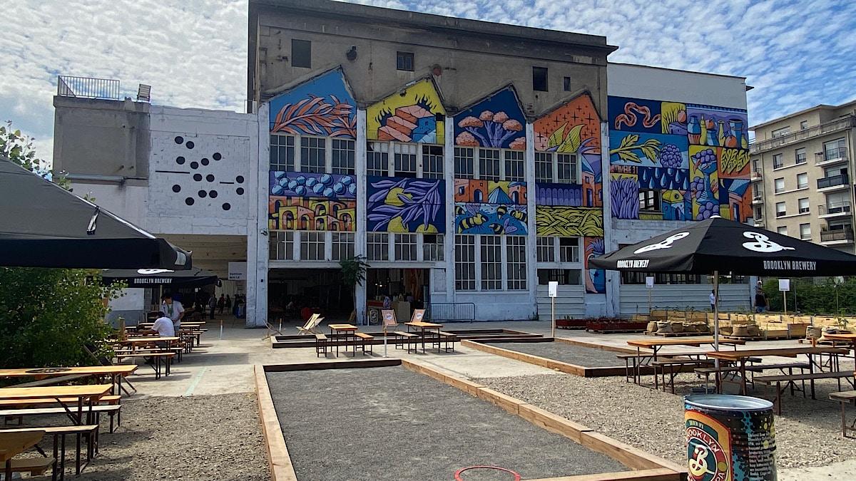 street art La Cité des Halles - Lyon Demain