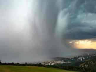 orage sur Saint-Etienne