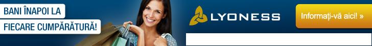 Cu Lyoness profitați ca membru Lyoness la fiecare cumpărătură! Veți primi Cashback pentru fiecare cumpărătură la peste 20.000 parteneri comerciali Lyoness: prin Online Shopping, cumpărături cu bonuri valorice originale sau cumpărături mobile.