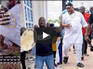 Cubana Chief Priest Gifts Obi Cubana 42 Cows For Mother's Burial (Video)