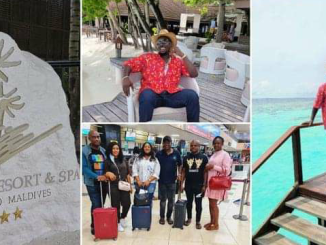 Stunning photos of Obi Cubana And Wife As They Go On Holidays After burial