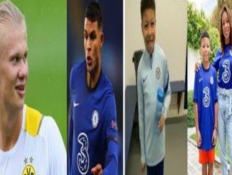 Thiago Silva's son tells Erling Haaland to secure Chelsea transfer