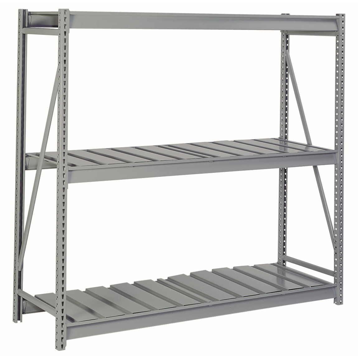 Bulk Storage Rack With Ribbed Decking Starter 96 W X 24 D X 72 H