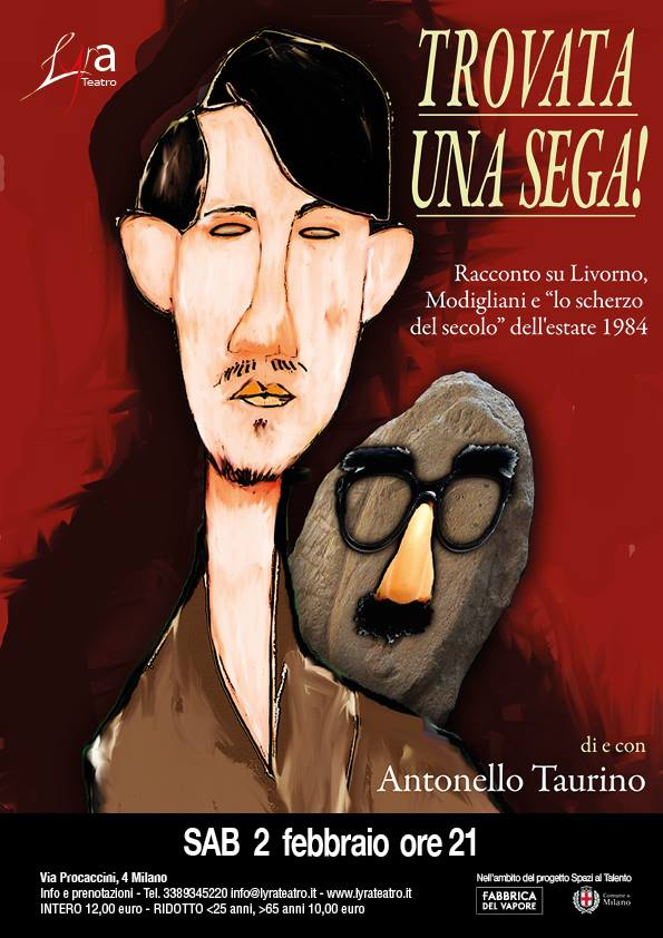 Trovata una sega! di e con Antonello Taurino
