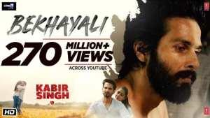 Bekhayali-lyrics-download