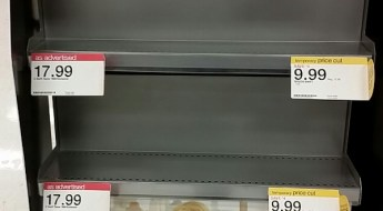 Taylor Swift Empty Store Shelves