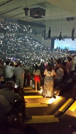 Crowd at Prince concert