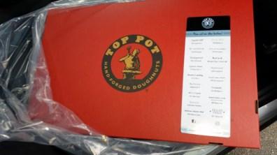Top Pot doughnuts box