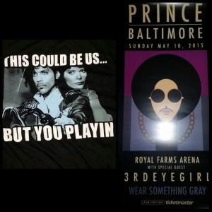 t-shirt and poster