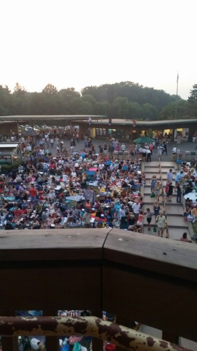 Audience at the Lenny Kravitz concert