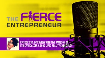The Fierce Entrepreneur lyricfancy podcast image