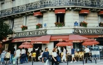 Corner café in Paris