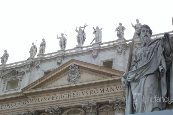 St. Peter's Basilica at the Vatican in Rome