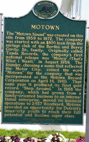 Motown Plaque