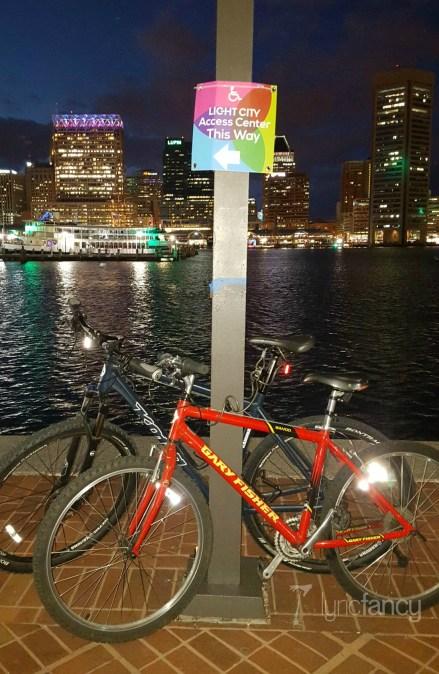 Bikes at Light City