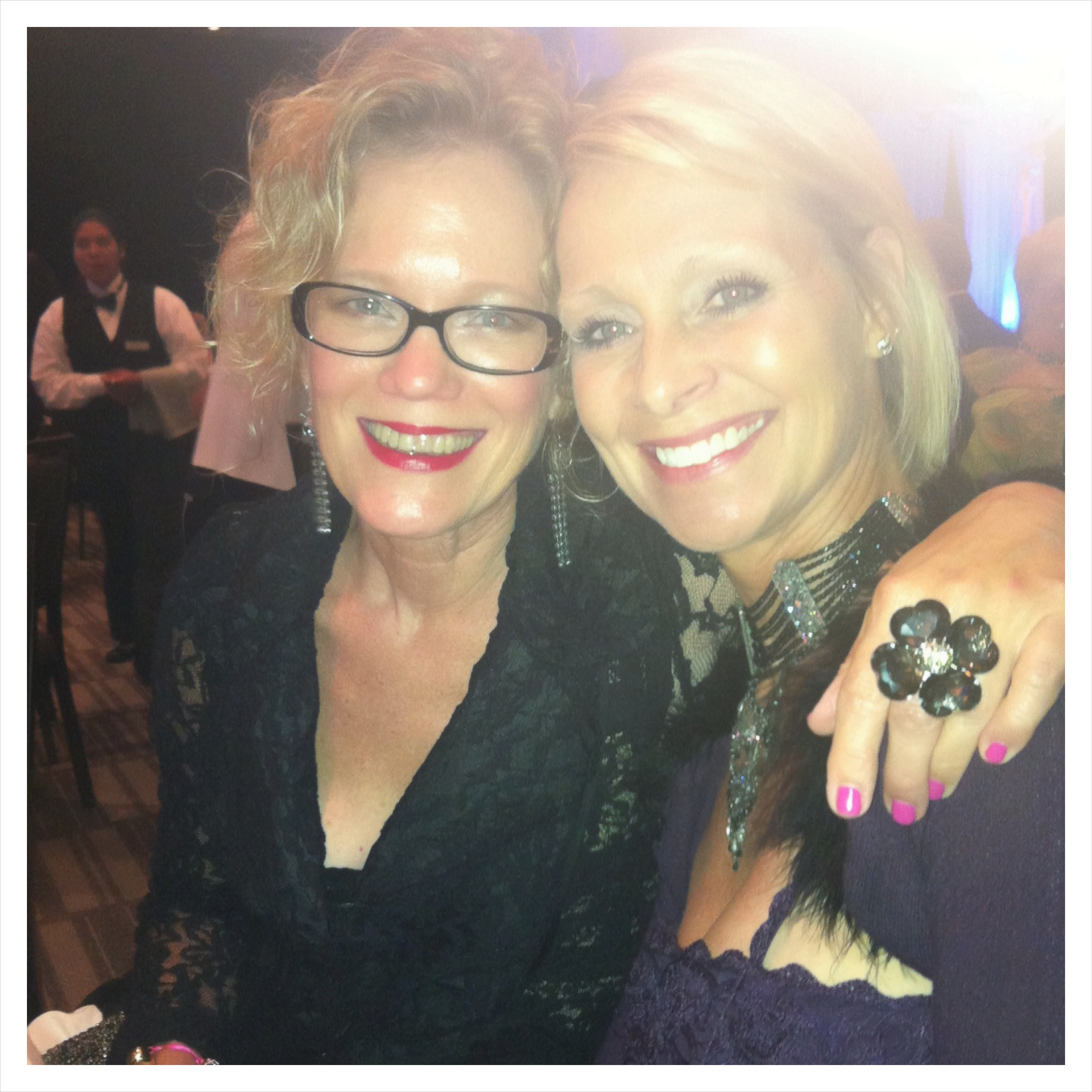 Sandy and dear friend and client Stephanie McAndrew
