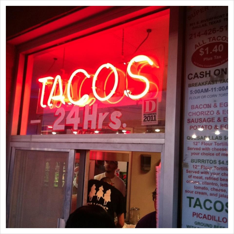 Best Tacos in Dallas! Fuel City Tacos Downtown Dallas