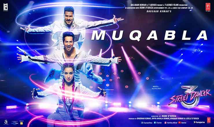 Muqabla Song Lyrics In English – Street Dancer 3D Tamil