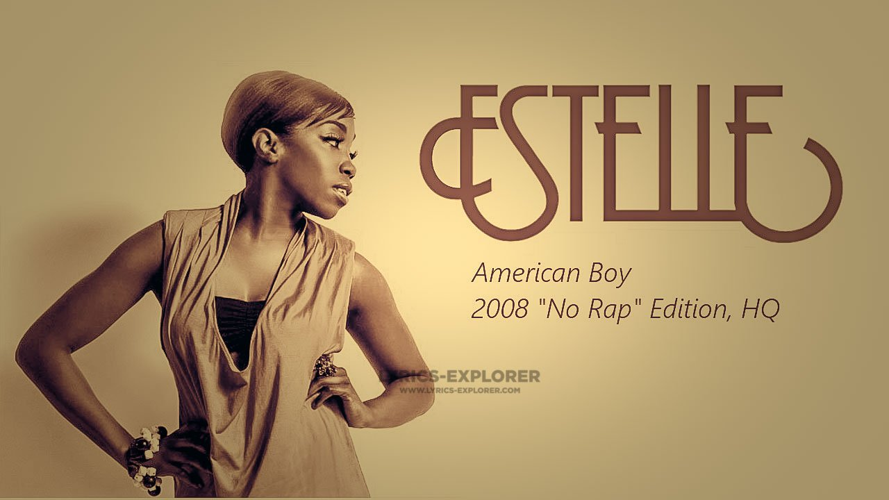 You are currently viewing American boy Lyrics In English – American boy