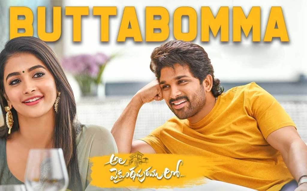 Butta Bomma Song Lyrics – Armaan Malik , Ala Vaikunthapurramloo , Allu Arjun