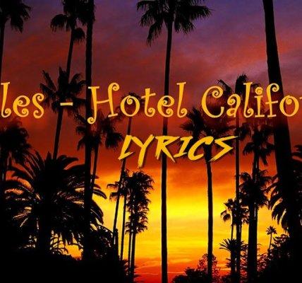 Hotel california - lyrics