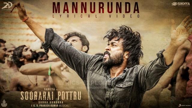 Mannurunda Lyrics In English - Soorarai Pottru Tamil Lyrics Download in PDF