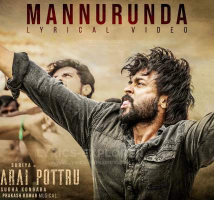 Mannurunda Lyrics In English - Soorarai Pottru Tamil Lyrics Download in PDF(1)