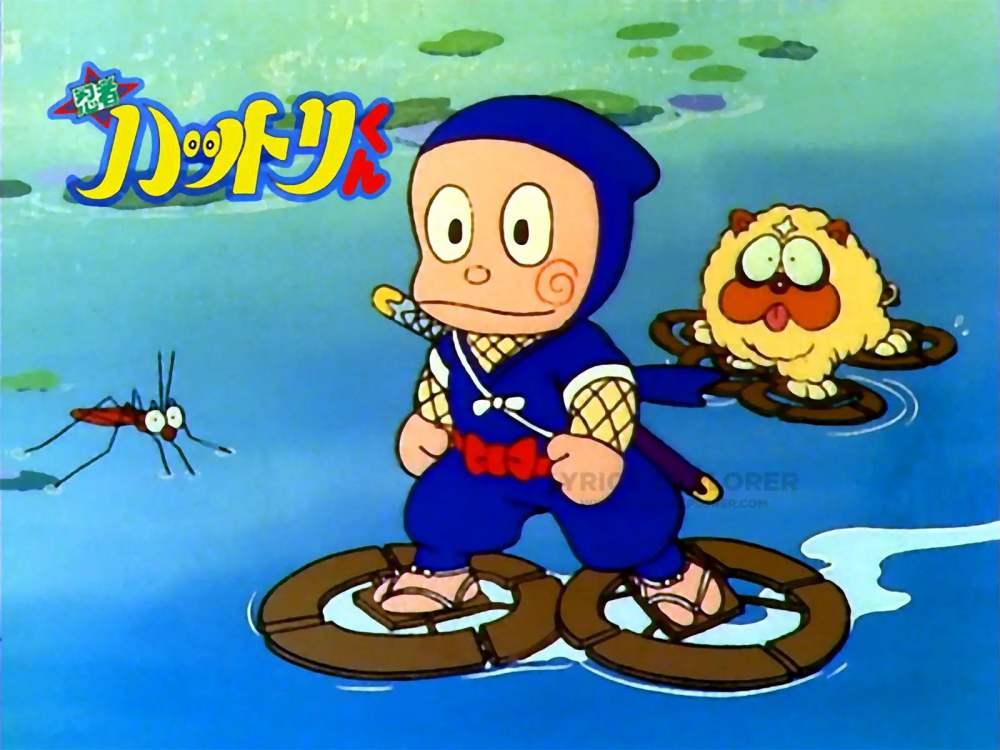 Ninja Hattori Theme Song Lyrics in Englsih - Pahado ke Upar