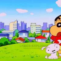 Shinchan Theme TITLE Song Lyrics in English lyrics download
