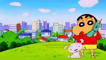 Shinchan Theme TITLE Song Lyrics in English