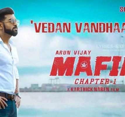 Vedan-Vandhaacho-Lyrics-In-English---Mafia-Tamil-Lyrics-Download-in-PDF