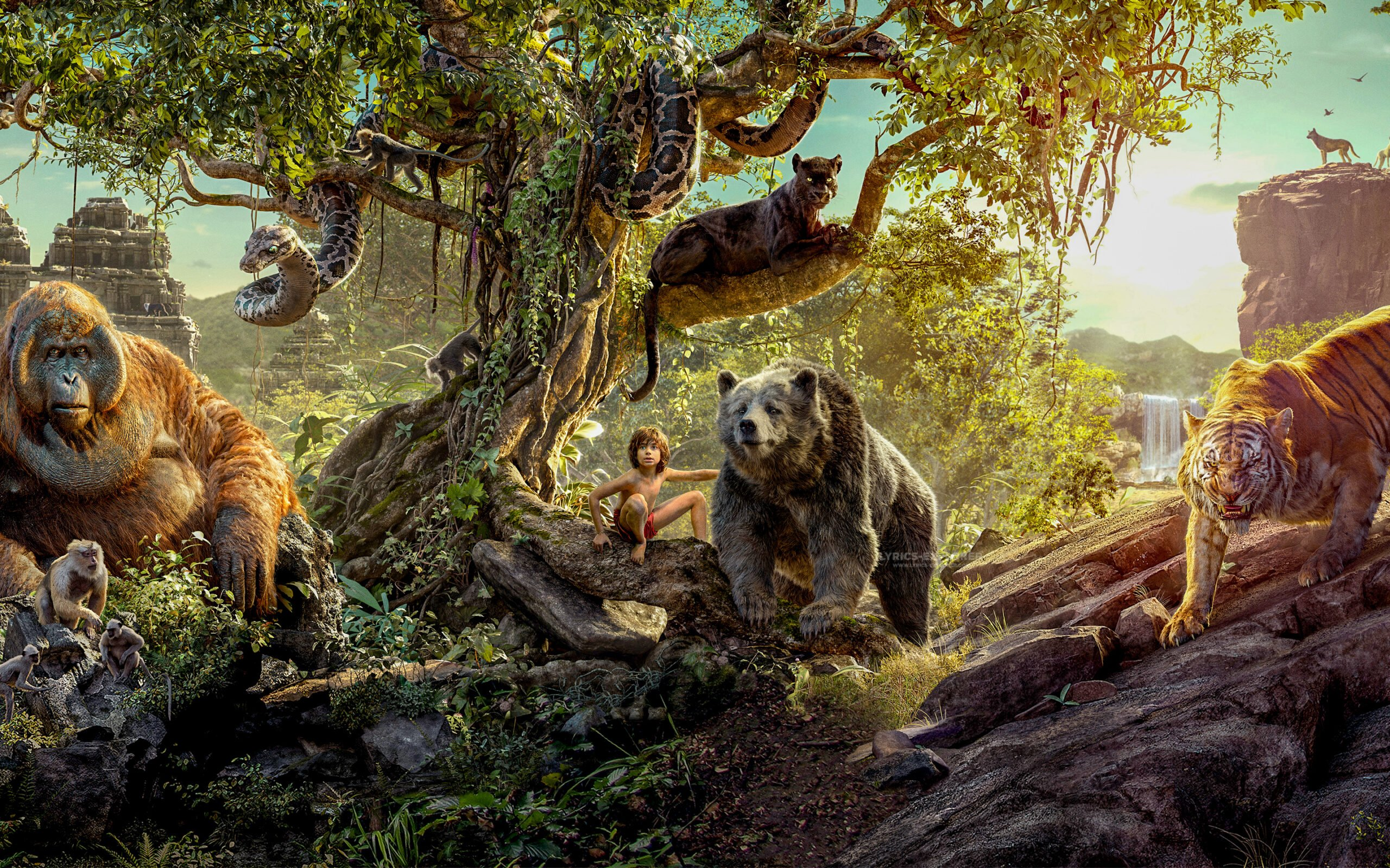 You are currently viewing The Jungle Book Title Song Lyrics in Hindi