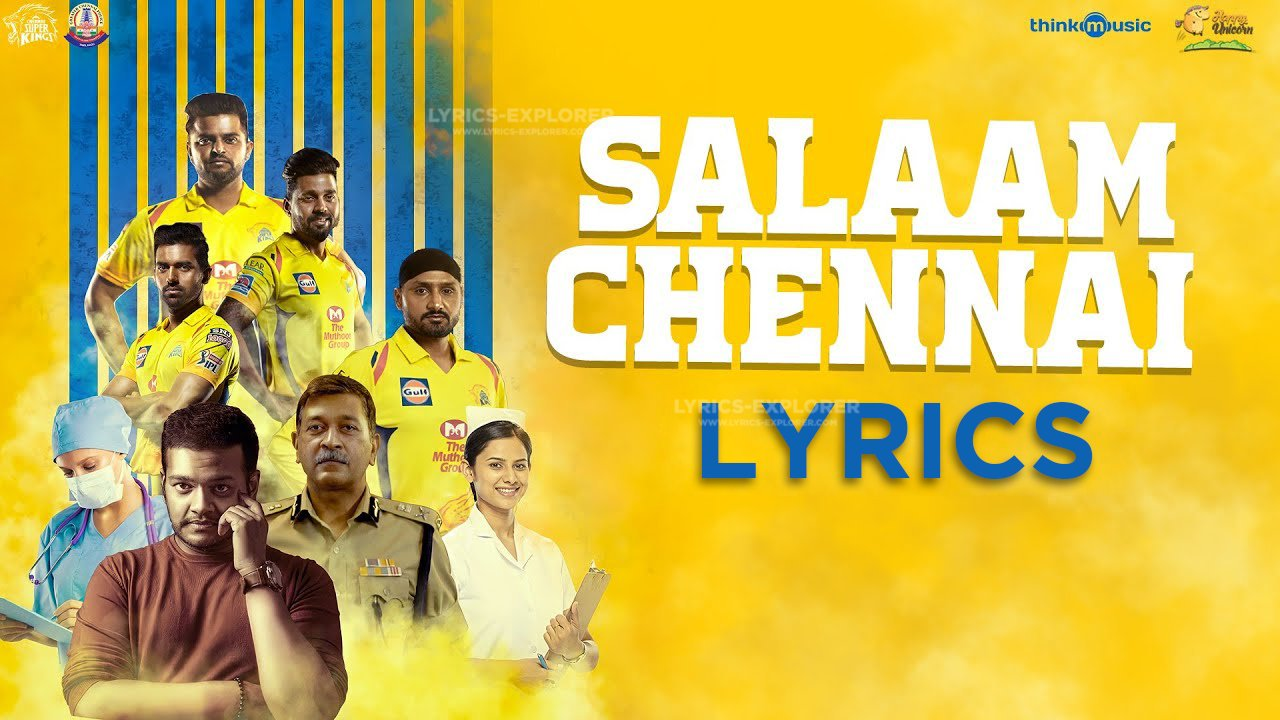 You are currently viewing Salaam Chennai Song Lyrics in English free download